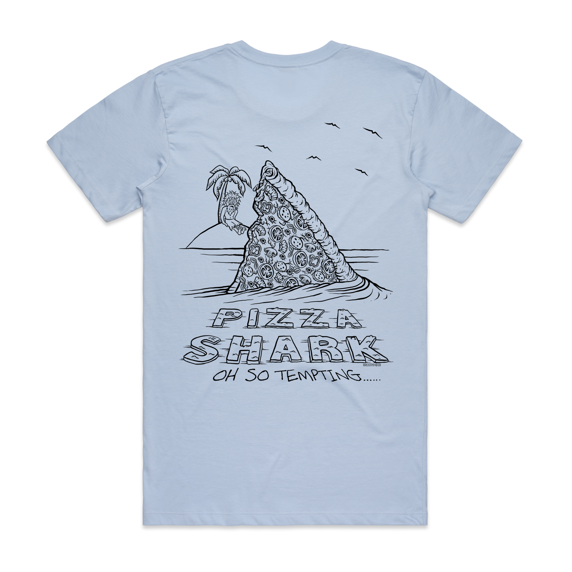 Pizza Shark T-Shirt 2