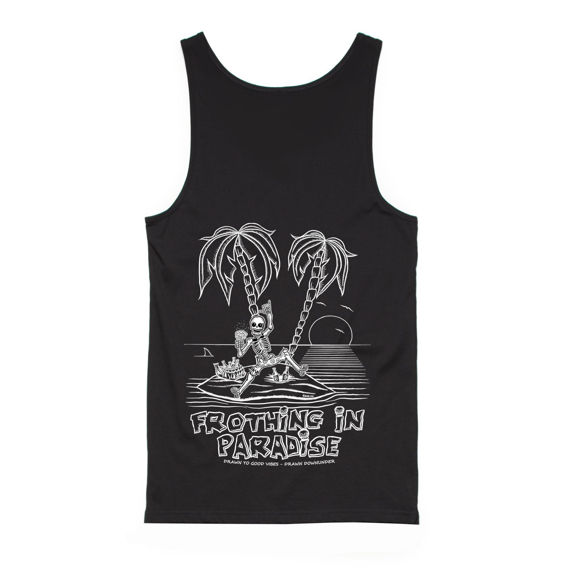 Frothing In Paradise Singlet