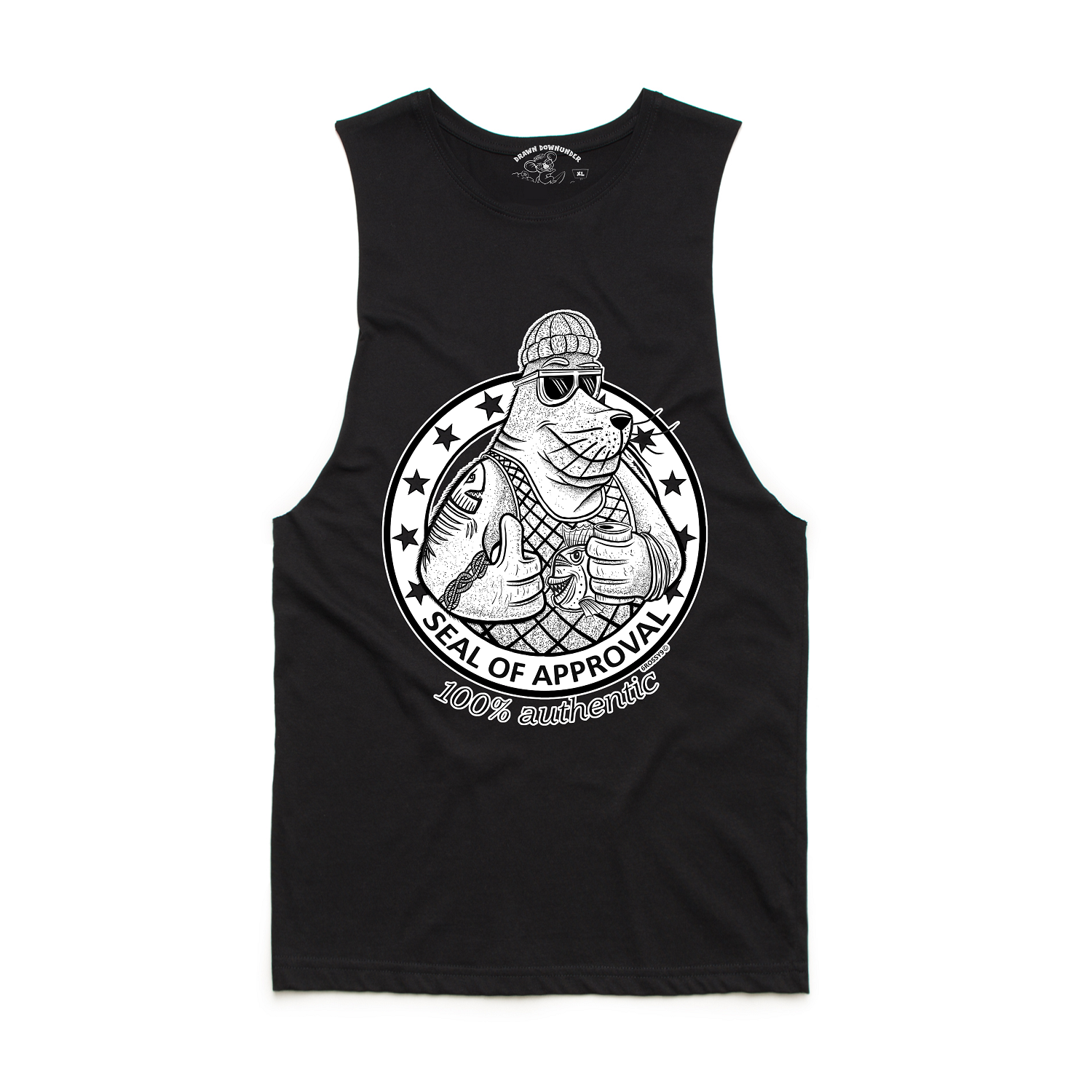 Seal of Approval Tank