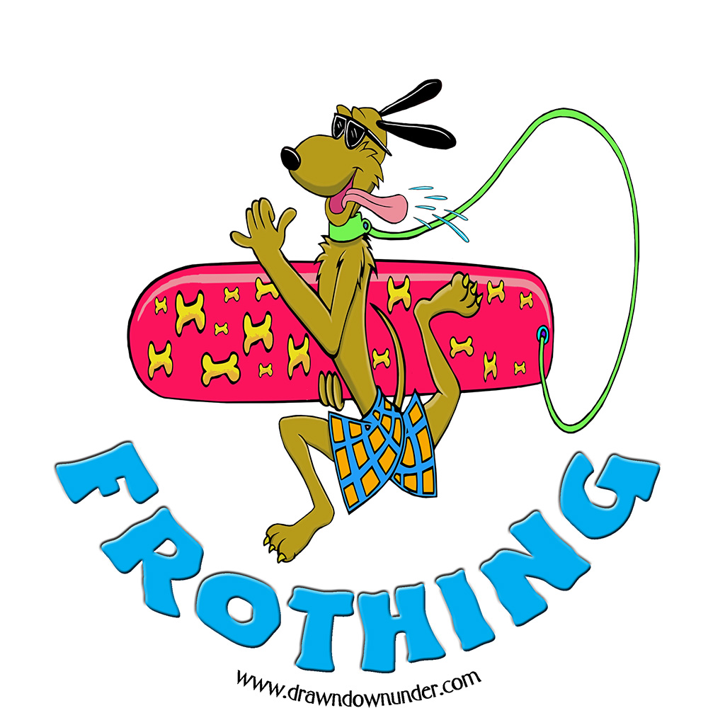 Frothing Sticker