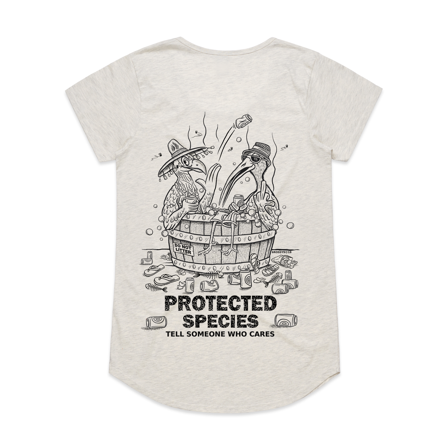 Protected Species Ladies Scoop Neck T-Shirt