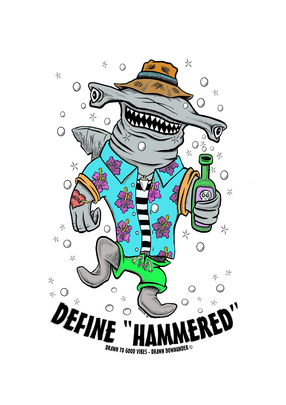 Define Hammered – Print