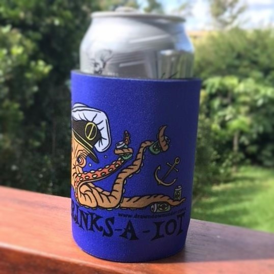 Can Cooler – Captain Drinks-A-Lot