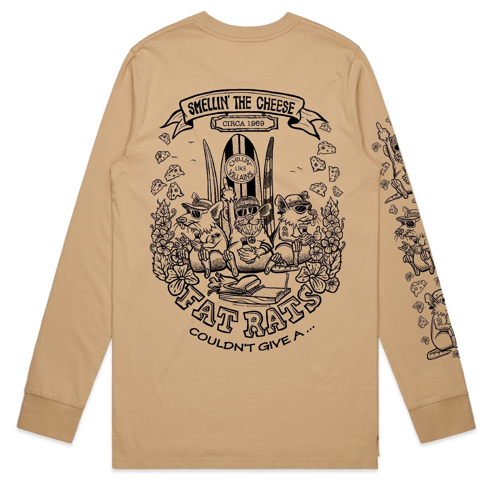 Fat Rats Smell The Cheese Long Sleeve