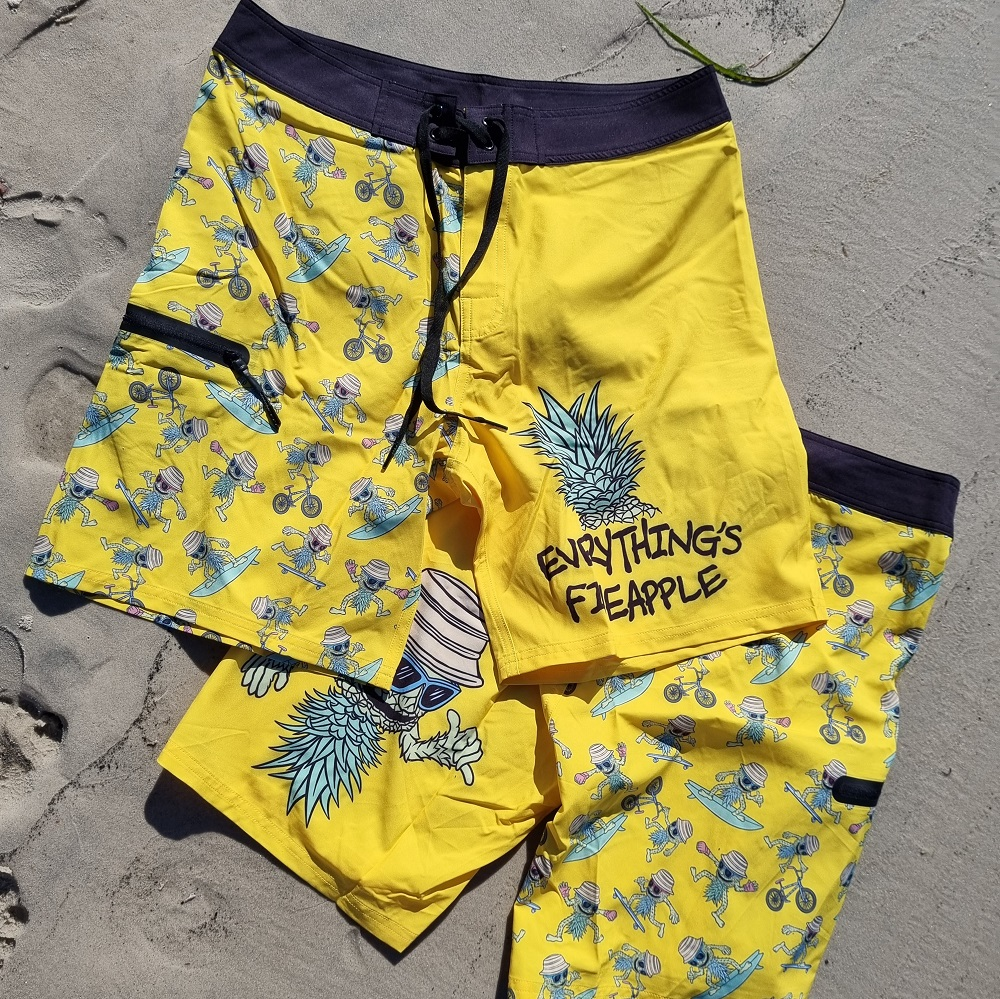 Everything's Fineapple Board Shorts