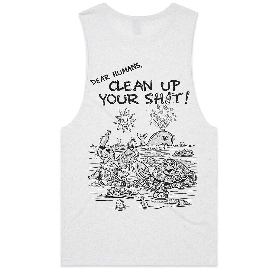 Clean Up Your Shit Tank